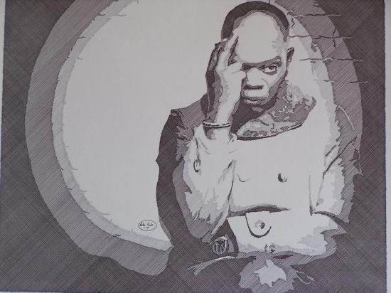 Samuel L. Jackson por Bernard